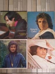 Lote com 13 discos de vinil Roberto Carlos