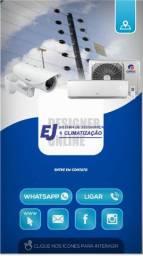 Instalcao é manutenção de ar condicionado  câmeras e cerca elétrica