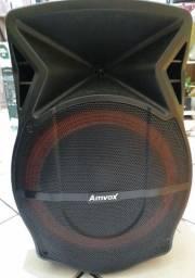 Caixa de som amplificada 500w
