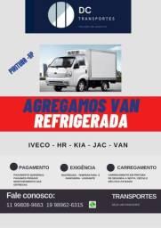 Agregamos Van refrigerada distribuição São Paulo