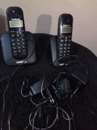 Telefone Sem Fio Intelbras TS 3112 de Mesa 1 Ramal