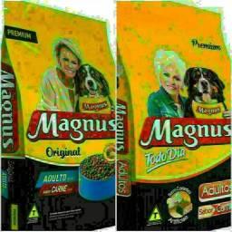Ração Magnus Premium TodoDia e Original Adulto 25kg! Só Entrega!