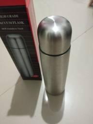 Garrafa Térmica Inox 500ml Frio e Quente