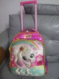 Título do anúncio:  Mochila Infantil Gatinha Love Pet Rodinhas