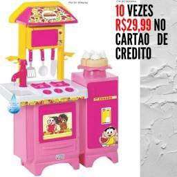 Título do anúncio: Cozinha Completa Turma da Mônica 10 vezes 29,99 no cartão desconto no dinheiro vido busca