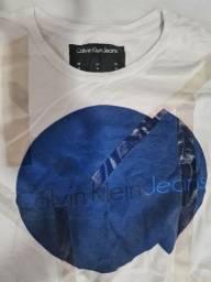 Camisa branca calvin klein