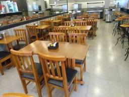 Título do anúncio: Mesas e cadeiras pra restaurante fabricação propria