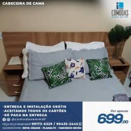 Título do anúncio: Cabeceira de cama Amadeirado MDF / A pronta entrega