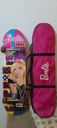 Skate infantil da Barbie