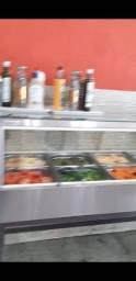 Balcão de salada