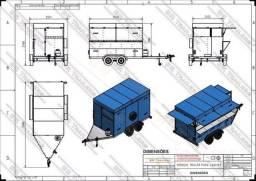 Documentacao para emplacamentp de reboques e treilers  nota fiscal  vistoria e chassis