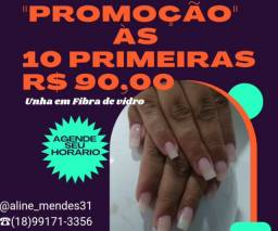 Título do anúncio: UNHA EM FIBRA DE VIDRO