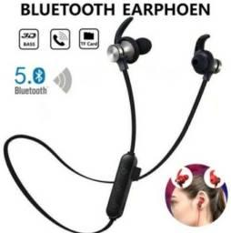 Título do anúncio: Fone de ouvido Bluetooth TF Magnético
