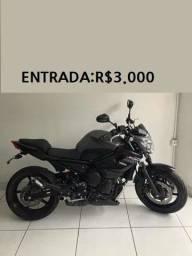Moto XJ6 entrada: 3.000