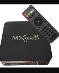 Tv box nova na caixa 128gb