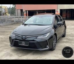 Título do anúncio: Corolla altis hybrid premium 2021 *top*impecável**financio**lindo**