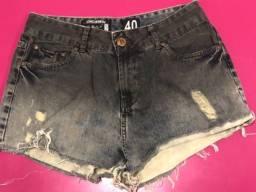 Short jeans lindo Vide Bula 40 (veste 38)