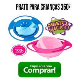 Prato giratorio para crianças 360º
