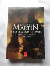 As Crônicas de Gelo e Fogo | O Festim dos Corvos | Vol.4 | George R. R. Martin