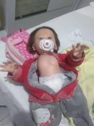 Título do anúncio: Boneca bebê reborn