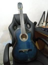 Título do anúncio: Violão Austin Azul com Preto