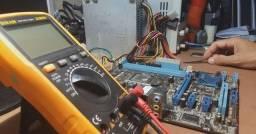 Reparo placa mãe Desktop em Seropédica