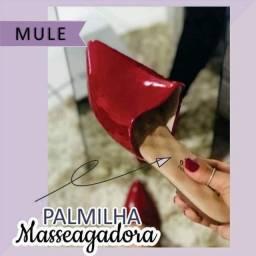 Mule com a palmilha massageadora