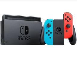Nintendo Switch nova geração + controle + Jogo Mário Odisseya