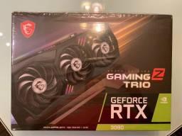 Placa Video NVidia GeForceRTX 3080 MSI Gaming Z Trio GDDR6X, DLSS, Ray Tracing