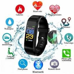 Título do anúncio: Pulseira Inteligente Bluetooth 4.1, Pedômetro, Relógio, Monitor Frequência Cardíaca.