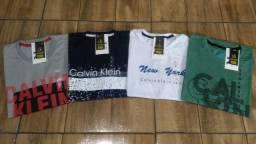 Camiseta Calvin Klein Nova (Tamanho M, G e GG)