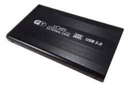 """Case para HD Sata 2,5"""" USB 3.0"""