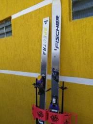 equipamento ski fischer