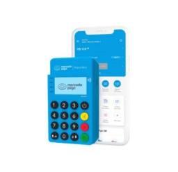 Maquininha, Maquineta, Máquina de Cartão Point Blue Me30s - NFC - Bluetooth Mercado Pago