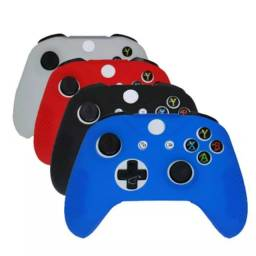 Capa case silicone controle Xbox one s capinha protetora