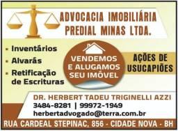 Advocacia Imobiliária - Inventário - Usucapião - Projetos e Habite-se, Regularização de I