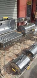Churrasqueiras alumínio grande