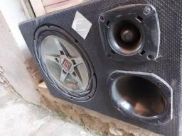 Título do anúncio: Caixa de som de carro