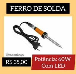 Ferro de Solda 60W com LED