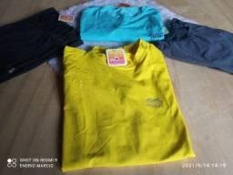 Título do anúncio: Camisa de proteção UV segunda pele fria :Rosset