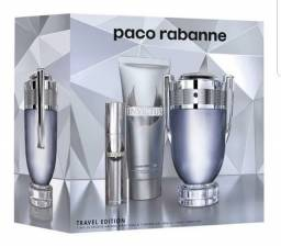 Perfume Invictus kit Paco Rabanne lacrado