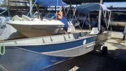 Barco de Alumínio marca Leve e Forte 6 mt - 2003