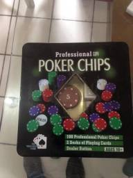 Fichas de poker profissional