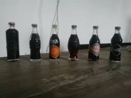 Mini Garrafinhas da Coca-Cola