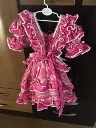 Vestido de Festa Junina