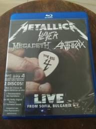 The Big 4 - Bluray (Metallica,Slayer,Megadeth e Anthrax)