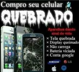 Compro celulares quebrados