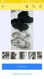 Lotinho de calçados menina