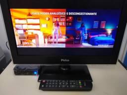 Tv Philco 19 com conversor digital integrado