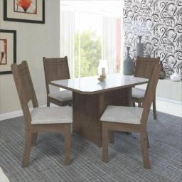 Mesa de Jantar com 4 Cadeiras J38 - New Charm